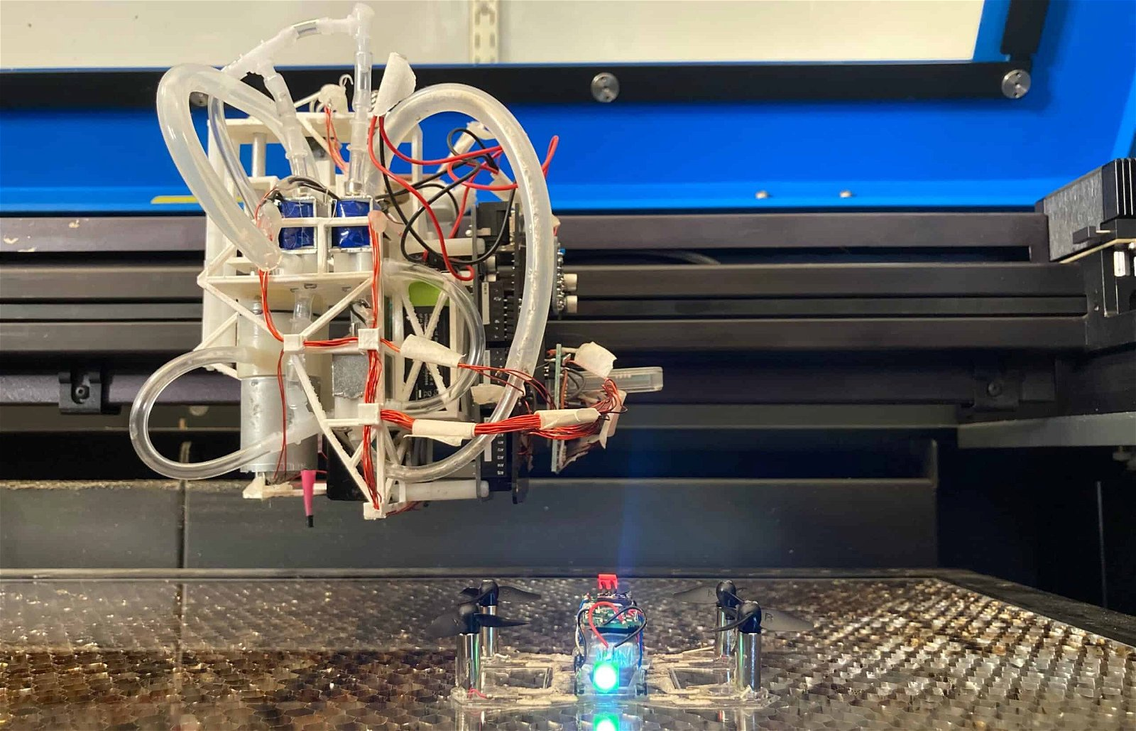 3-D printing, LaserFactory, MIT's, CSAIL, print devices without the need of humans, print devices