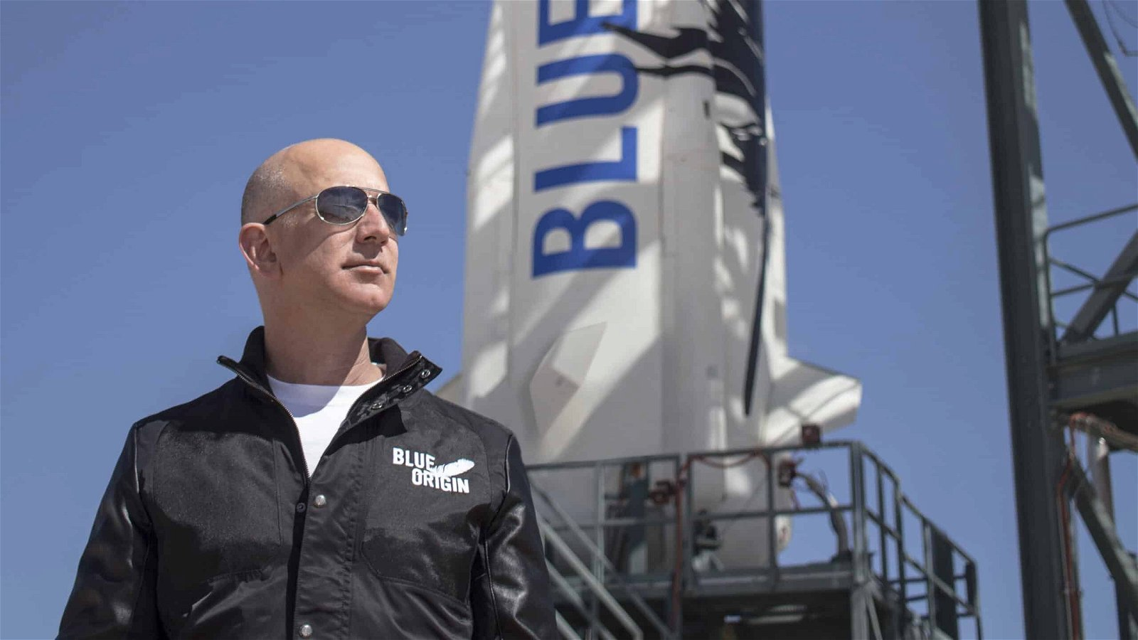 Blue Origin, Jeff Bezos, New Shepard, Virgin Galactic, SpaceX Falcon X, New Glenn, Amazon